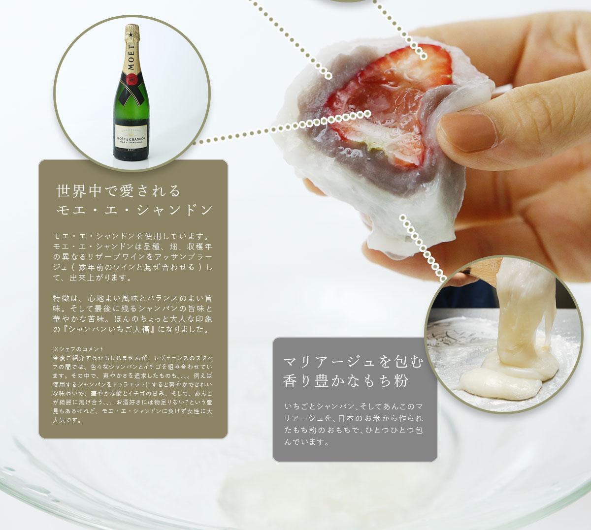 世界中で愛されるモエ・エ・シャンドン。最後に残るシャンパンの旨味と華やかな苦味