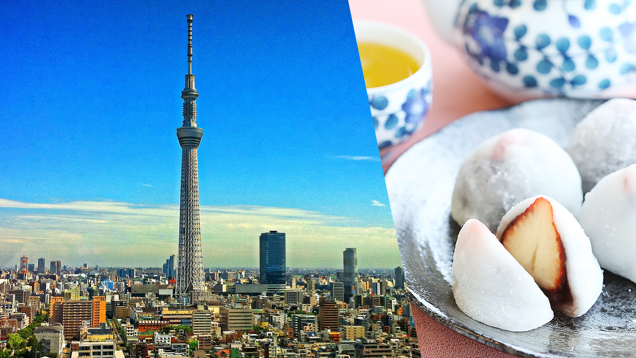 東京はいちご大福の名店がたくさん