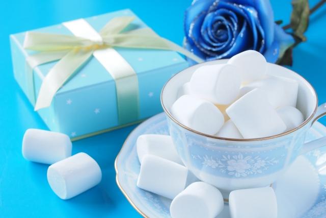 ホワイトデー定番のお菓子マシュマロ