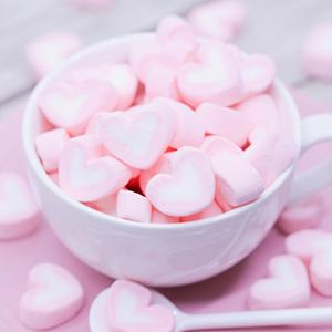 ホワイトデーに人気のお菓子マシュマロ画像