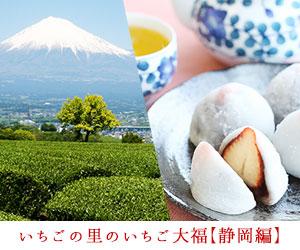 いちごの産地「静岡」ならではの、ここでしか食べられない、みずみずしいいちご大福6選
